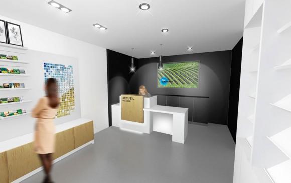 Nicolas Husson Conseils - Office du tourisme de Coutras - Architecture