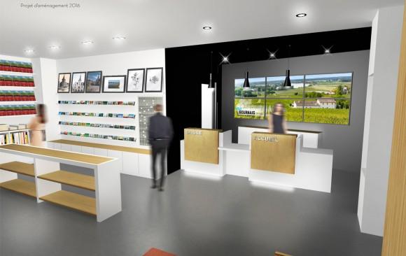 Nicolas Husson Conseils - Office du tourisme de Libourne - Architecture