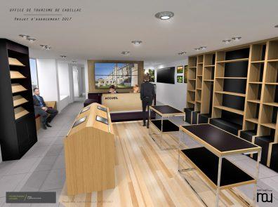 Nicolas Husson Conseils - Office du tourisme de Cadillac - Architecture